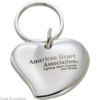Metal Heart keyrings