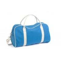 Contrast Canvas Duffle Bag