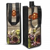 Full Colour Printed Wine Tote Bag