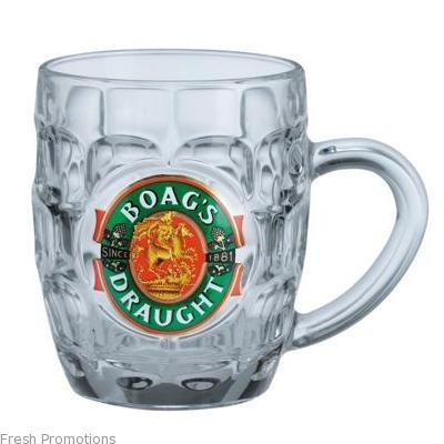 Glass Half Pint Mug