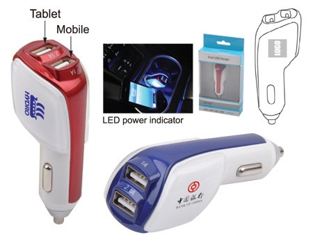 Phone and Tablet USB Car Charger