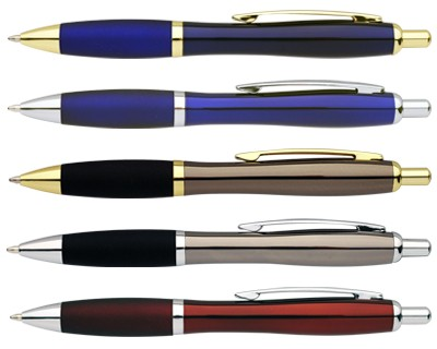 Curve Metal Ballpoint Pen