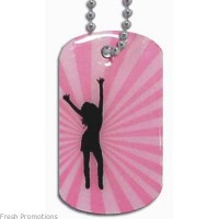 Resin Dome Dog Tags