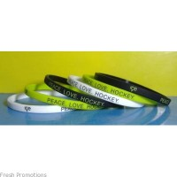 Silicone Bangle Wristbands