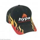 Flame Baseball Caps