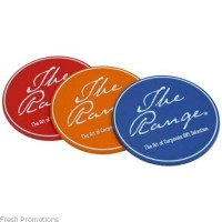 Moulded PVC Coasters