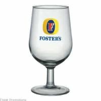 Printed Stem Beer Glass