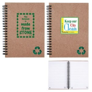 Branded Stone Paper Notebook