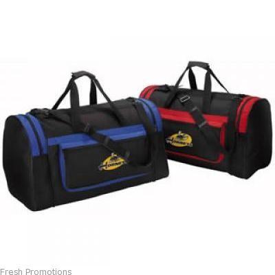 Contrast Pocket Sports Bag