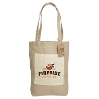 Reforest Jute Shopping Bag with Gusset