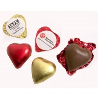 Promotional Chocolate Hearts