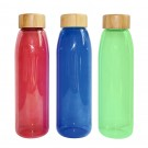 Coloured Glass Water Bottles