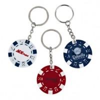 Poker Chip Keyring
