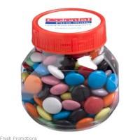 Plastic Jar With Smarties