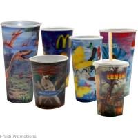 Lenticular Stadium Cups