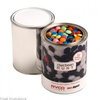 Paint Tin With Choc Beans