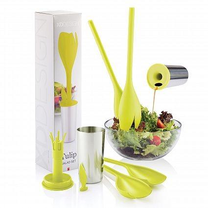 Tulip Salad Set with Custom Branding