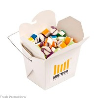 Noodle Boxes With Candy
