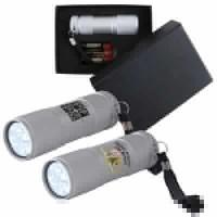 Silver Aluminium LED Torch