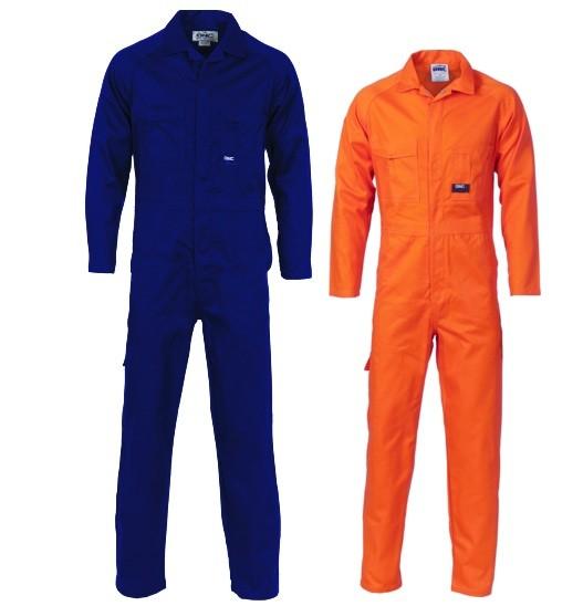 Navy and Orange Workers Overalls