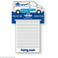 Van Shopping List Magnets