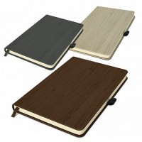 Woodgrain Cover Notebook