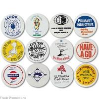 Plastic Button Badges