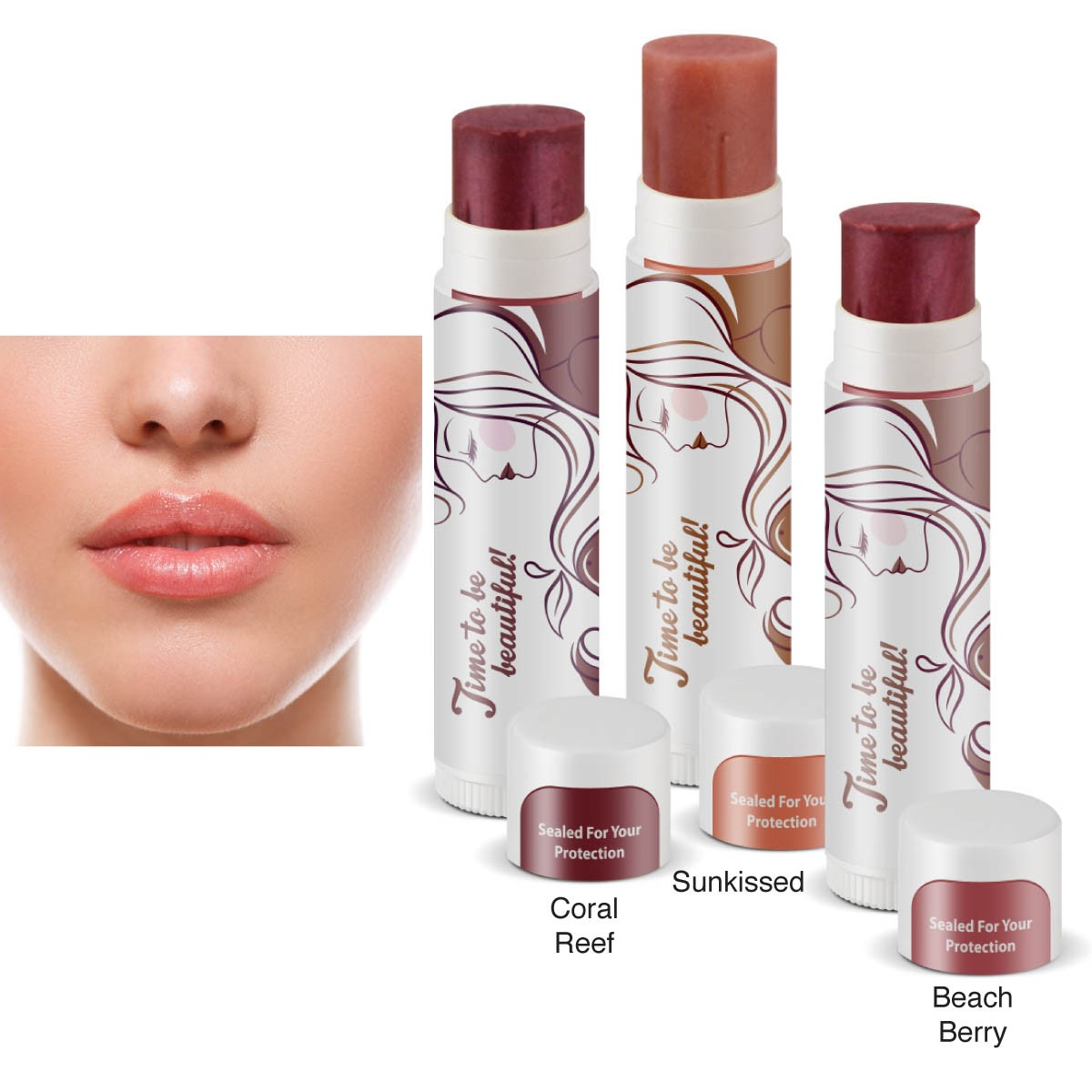 Natural Lip Shimmers