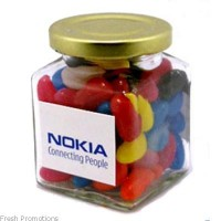 Square Jelly Bean Jars