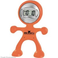 Flex Man Desk Clock