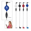 Retractable Ear Bud with Microphone