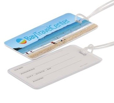 Westin Luggage Tag Front & Back