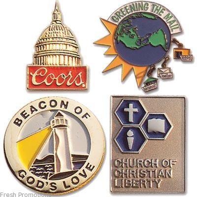 Embossed Lapel Badge