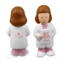 Female Doctor Stress Balls