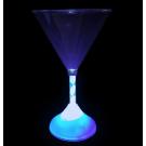 LED Plastic Martini Glass