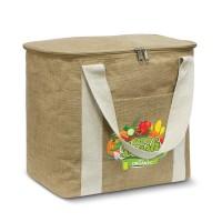 Large Jute Cooler Bag