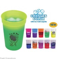 Colour Changing Plastic Cups