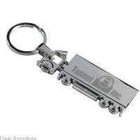 Transport Metal Keyring