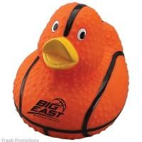 Basketball Rubber Duckie