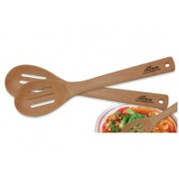 Bamboo Slotted Spoon