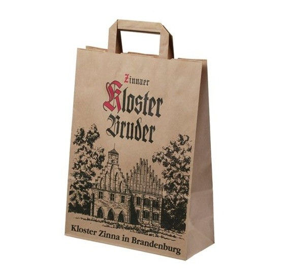 Natural Paper Shopping Bags