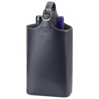 Bonded Leather Wine Carriers