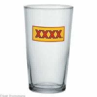 Large Conical Beer Glass