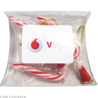 Candy Cane Pillow Case