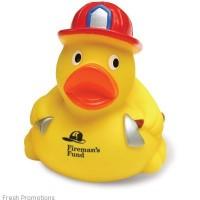 Fireman Rubber Duckies