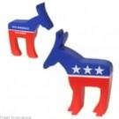 Democratic Donkey Stress Toys