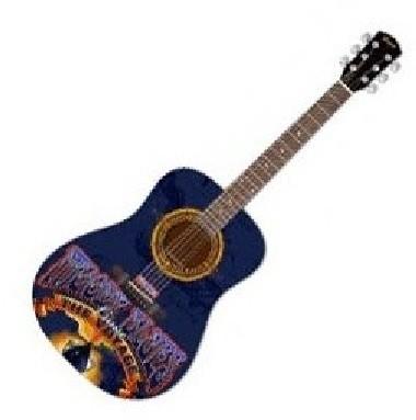 Custom Printed Acoustic Guitar