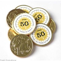 Custom Chocolate Coins
