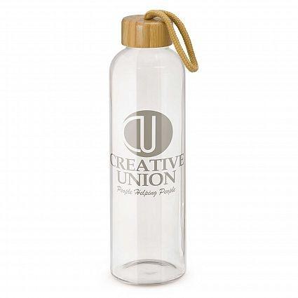 Eden Glass Bottle Clear