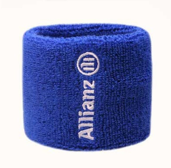 Wide Towelling Wristbands